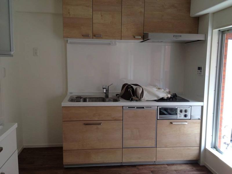 東京都・マンションリノベ N様邸 リフォームしたキッチン周りにもご採用頂きました!