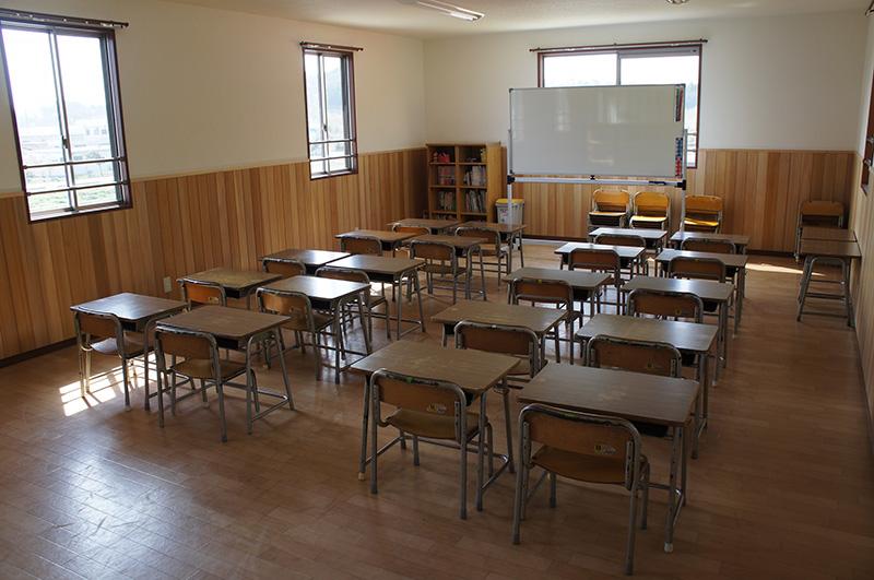 こういう雰囲気の教室で勉強したかったなあ・・・