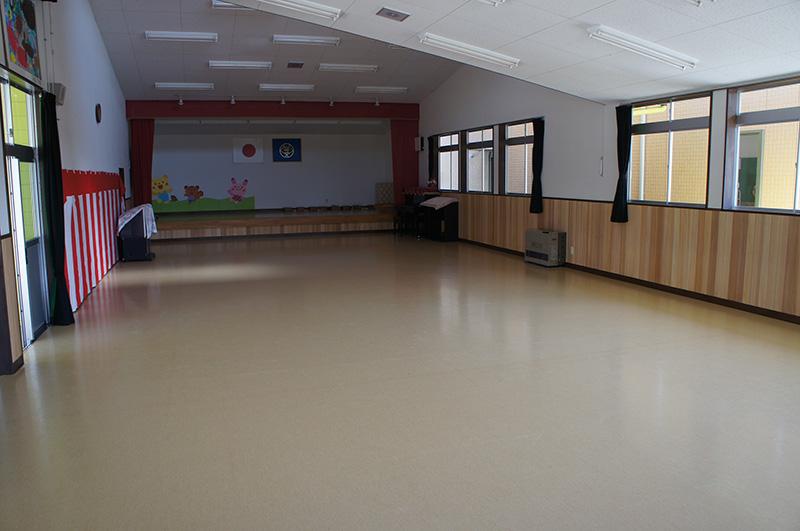 福島県・文教施設 幼稚園のお遊戯室に採用頂きました!