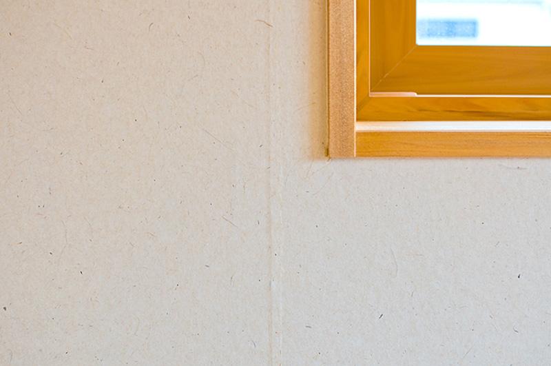 漆喰とアガチス。お互いの素材の良さを引き立たせています。