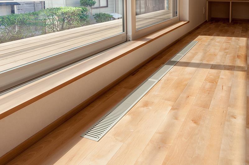 新潟県・個人住宅 床下エアコンの周辺は過酷な環境下ですので、より慎重な施工が求められます。