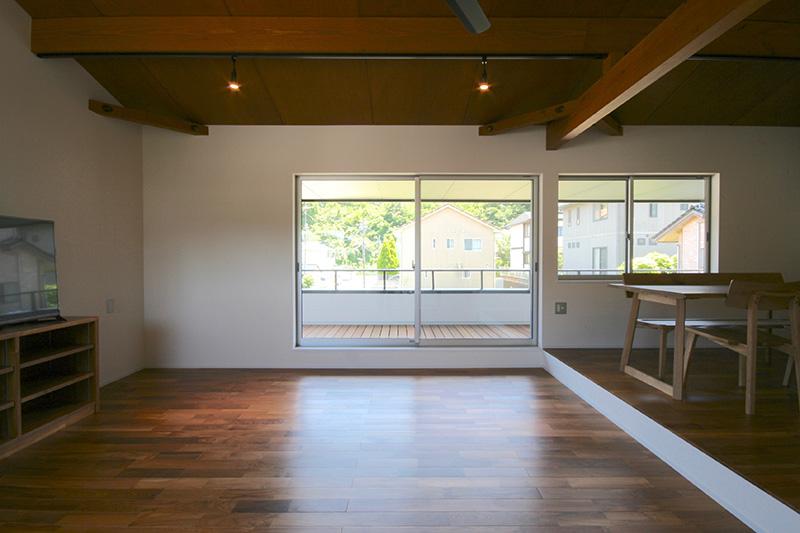 福島県・個人住宅 T様邸 広々とした空間で、のんびり出来そうです!