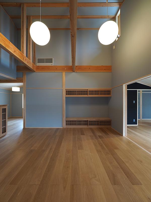 和ときどき洋といった空間ですが、どんな場所でも違和感なく調和するのがオーク材の良さです!