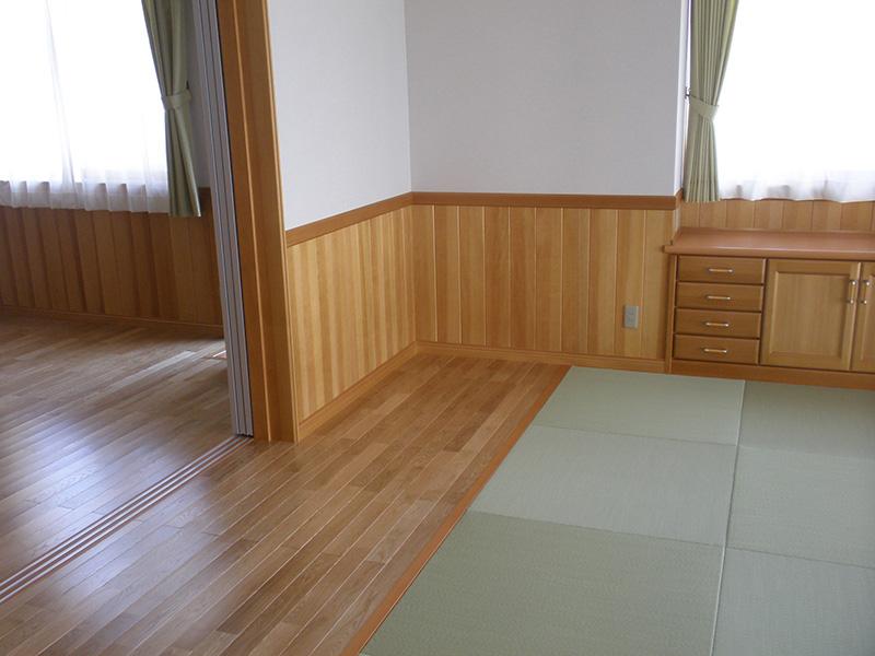 福島県・個人住宅 和モダンな空間にもぴったりですね!