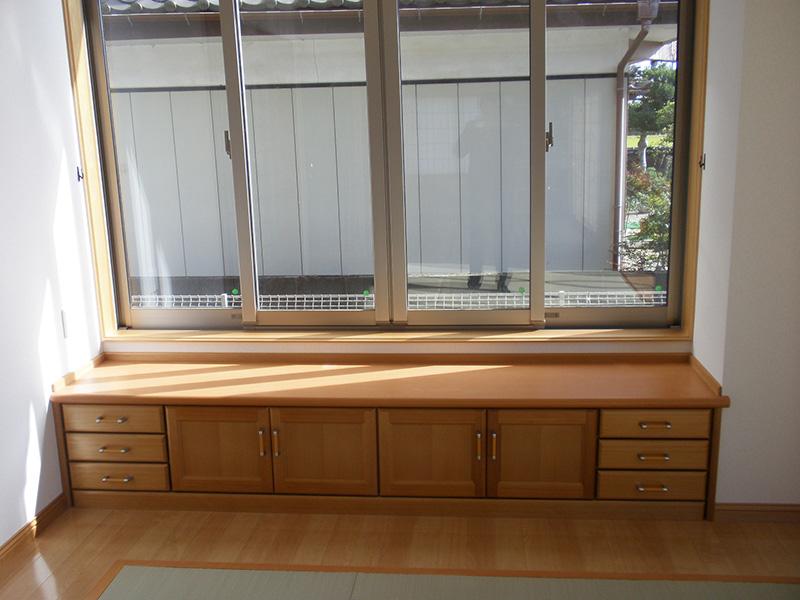 福島県・個人住宅 アガチスのハンドメイドのオリジナル収納です。